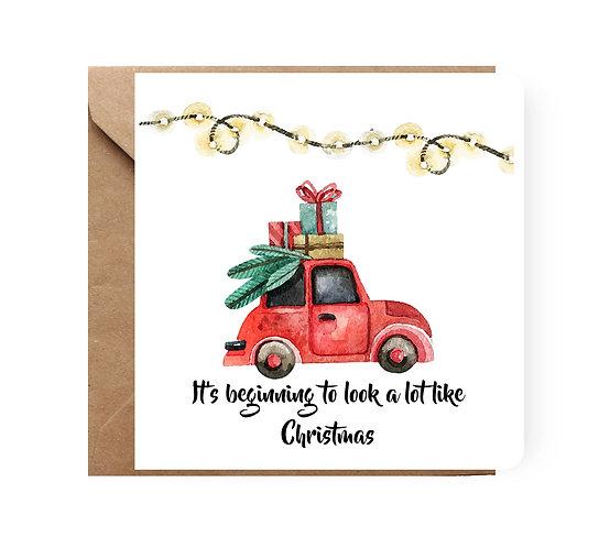 Felicitare de Crăciun cod 12