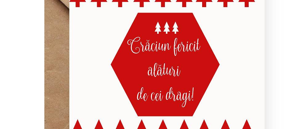 Felicitare de Crăciun cod 07
