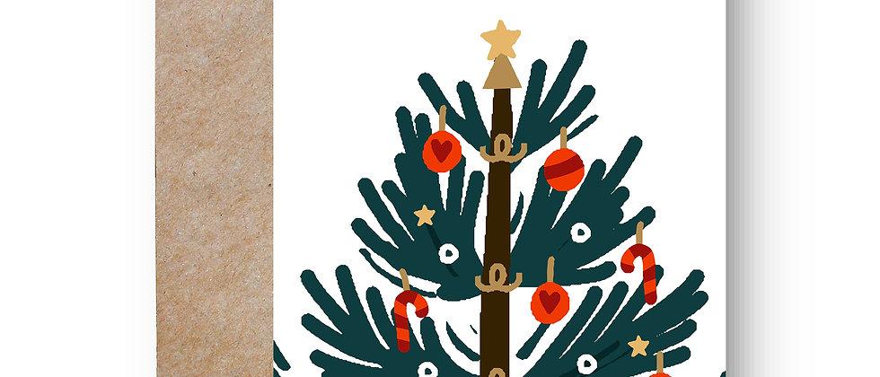 Felicitare de Crăciun cod 92