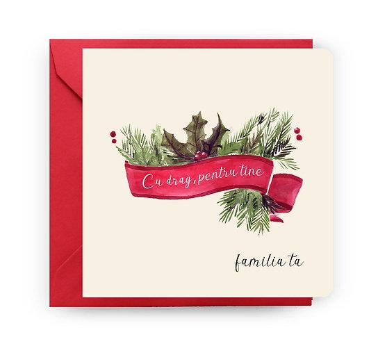 Felicitare de Crăciun cod 70