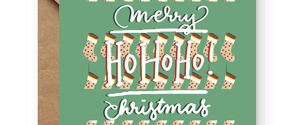 Felicitare de Crăciun cod 83