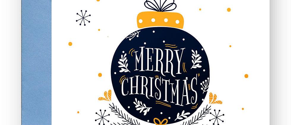 Felicitare de Crăciun cod 33
