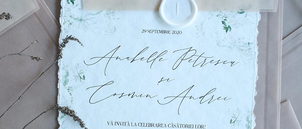 Invitație de nuntă Luna cod 20-09