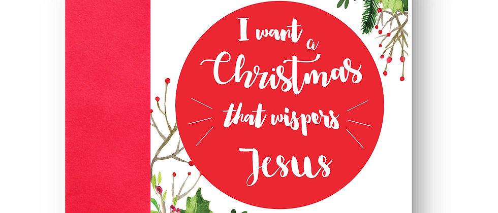Felicitare de Crăciun cod 24