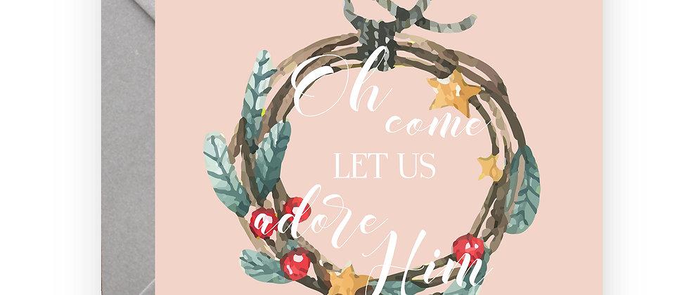 Felicitare de Crăciun cod 19