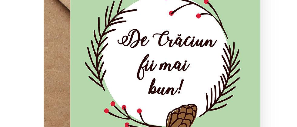 Felicitare de Crăciun cod 03