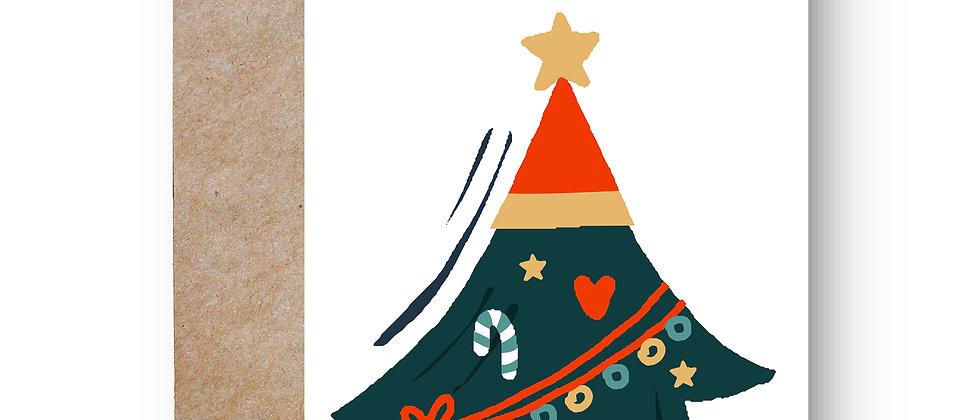 Felicitare de Crăciun cod 91
