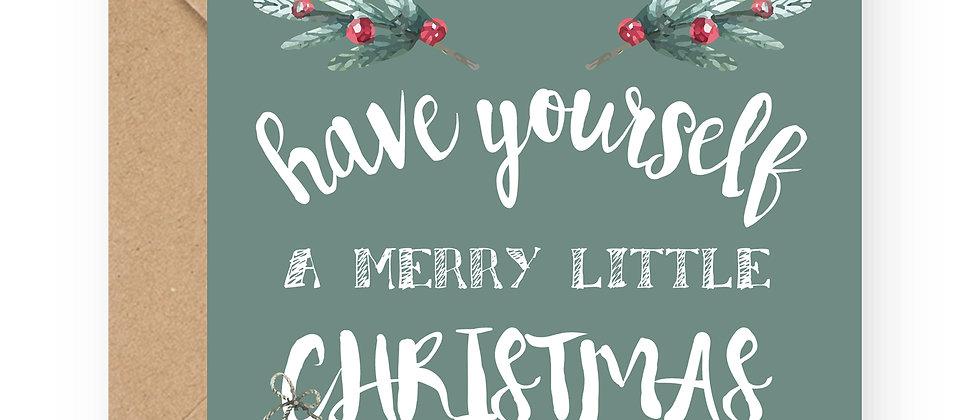 Felicitare de Crăciun cod 37
