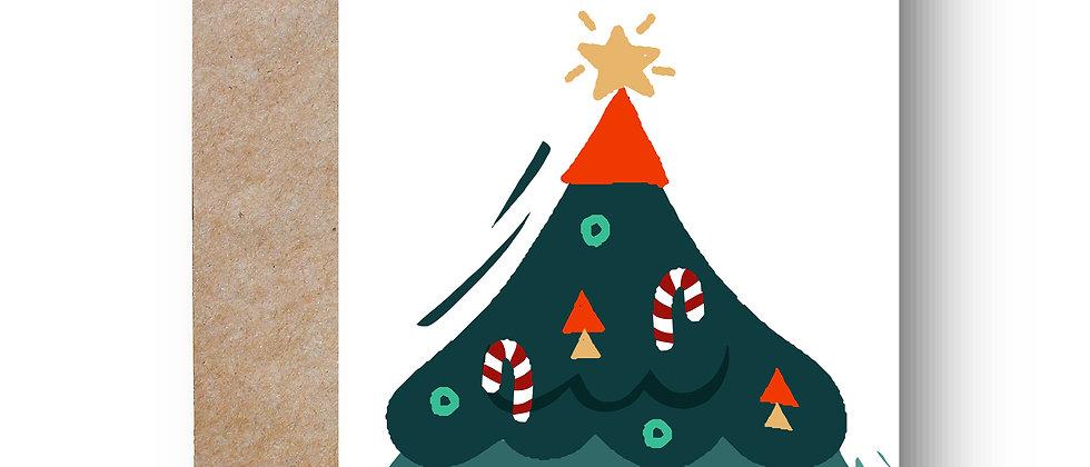 Felicitare de Crăciun cod 90
