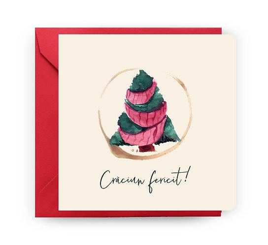 Felicitare de Crăciun cod 68