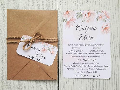 Invitație de nuntă cod 1703