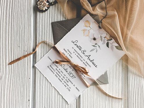 Invitație de nuntă cod 1720
