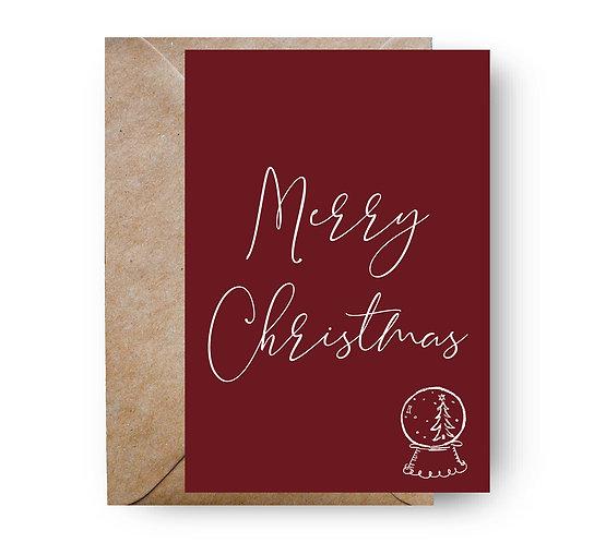 Felicitare de Crăciun cod 99