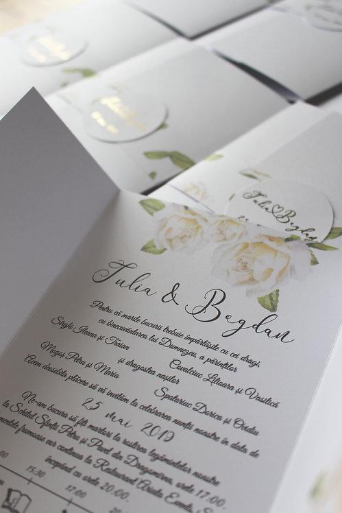 Invitație de nuntă cod 1920