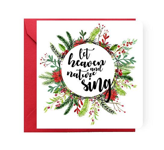 Felicitare de Crăciun cod 10
