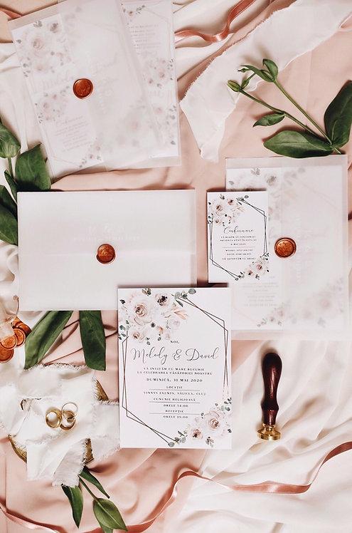 Invitație de nuntă Emma cod 20-13