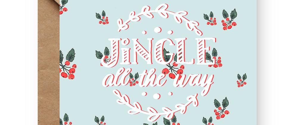 Felicitare de Crăciun cod 84