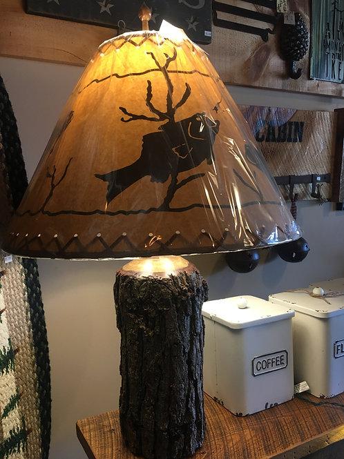 Oak/Red Cedar Lamps - Handcrafted