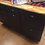 Thumbnail: Custom Island With Shaker-Style Doors/Oak Stain, Maple Top