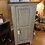 Thumbnail: Amish-Made Jelly Cabinet with Primitive Boulder Finish & Special Walnut Top