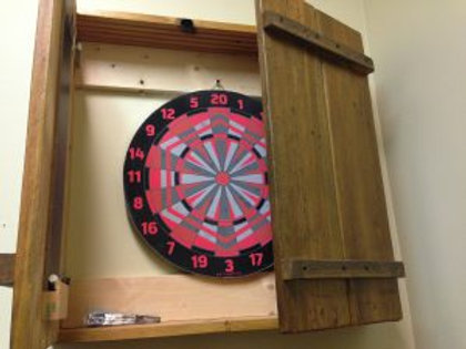 BarnWood Dart Board