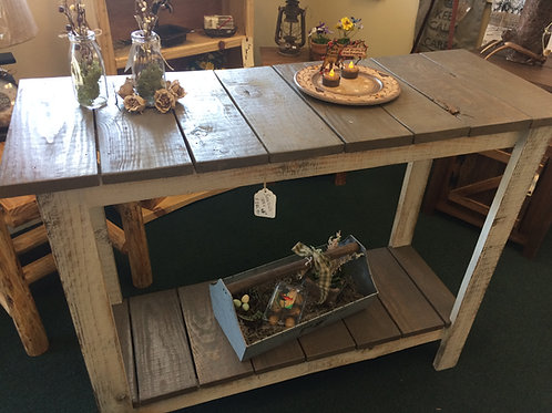Barnwood Entryway/Sofa or Garden Table