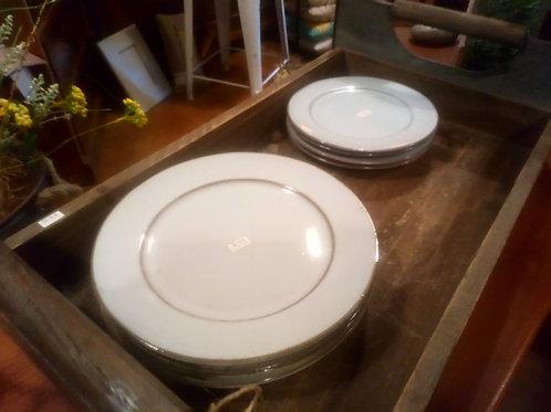Plate Sets - Ceramic Legbar Blue Lunch&Dinner