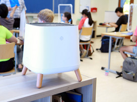 Air purification in classrooms