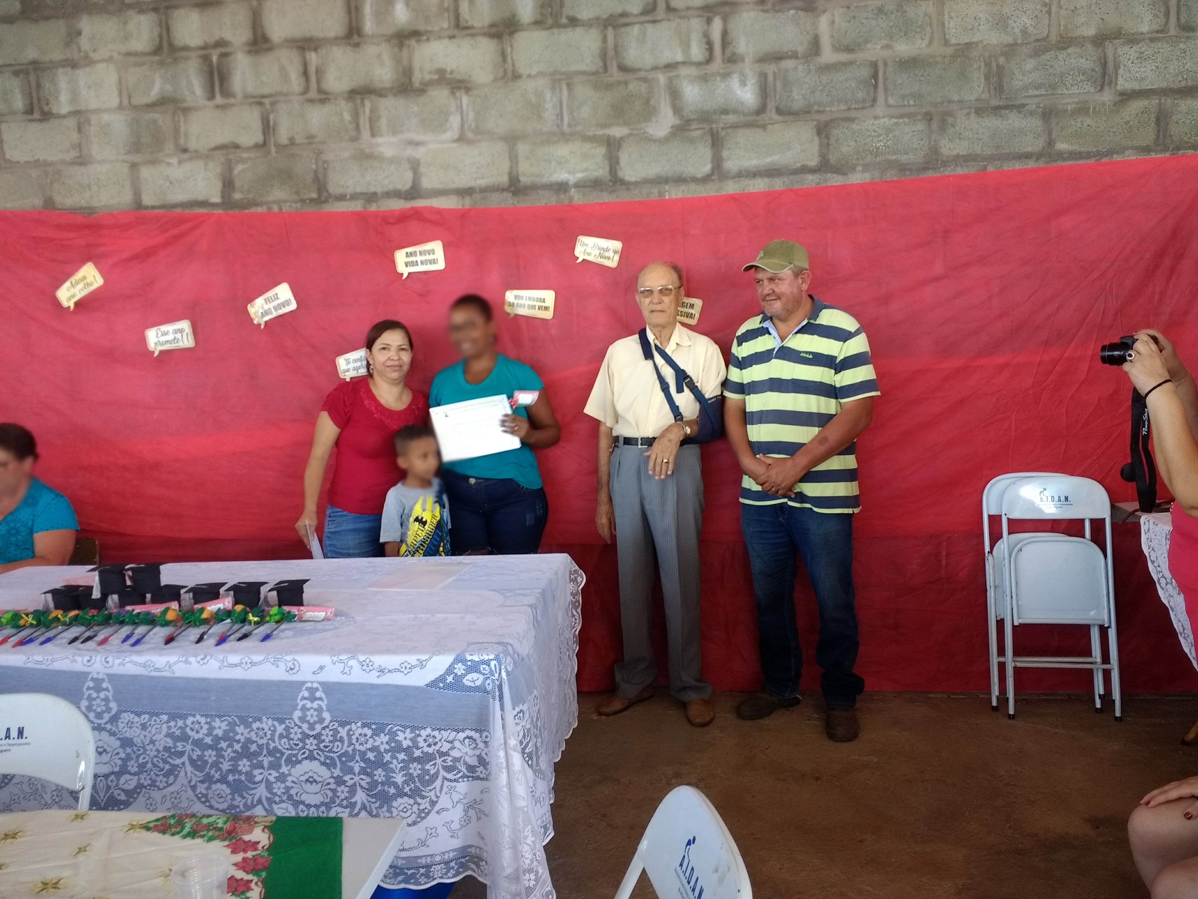 Entrega do Certificado