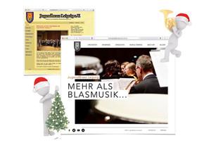 Update der Internetseite als Weihnachtsgeschenk
