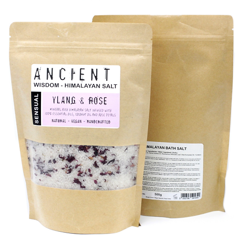 Himalayan Bath Salt Blend 500g - Sensual
