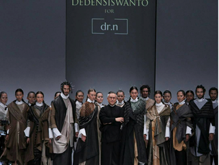 Jakarta Fashion Week 2018 | Deden Siswanto : RUSTEDGYCS for dr.n