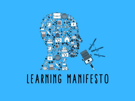 Learning Manifesto