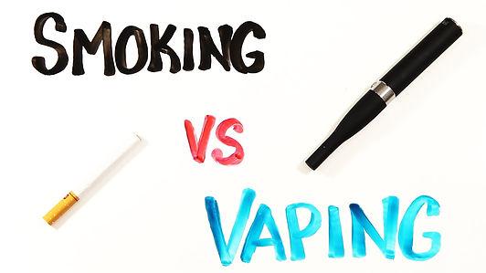 Smoking vs. Vaping