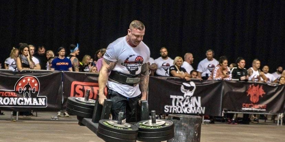 Strongman Seminar with 105k Strongest Man: Anthony Furhman