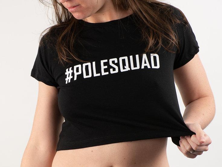 T-shirt Pole squad Black