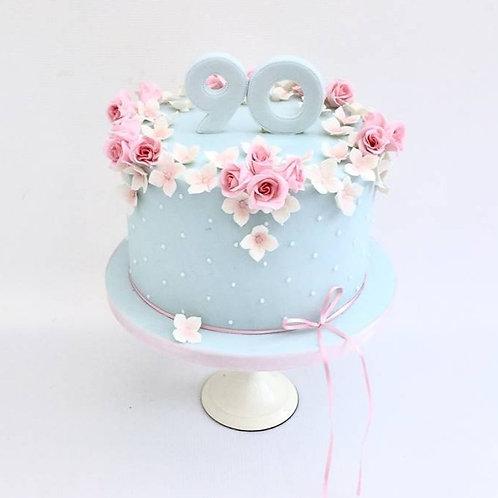 Rosebud Celebration Cake
