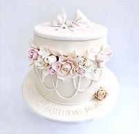 80th Celebration Cake