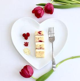 Raspberry Ripple and White Chocolate
