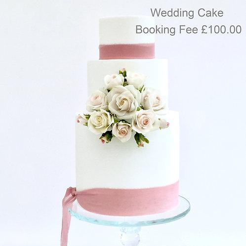 Wedding Cake Booking Fee