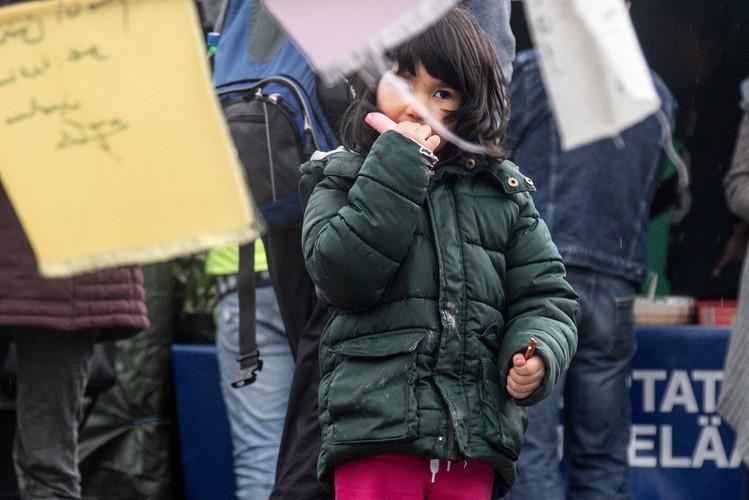Demo says: we deserve a safe future.