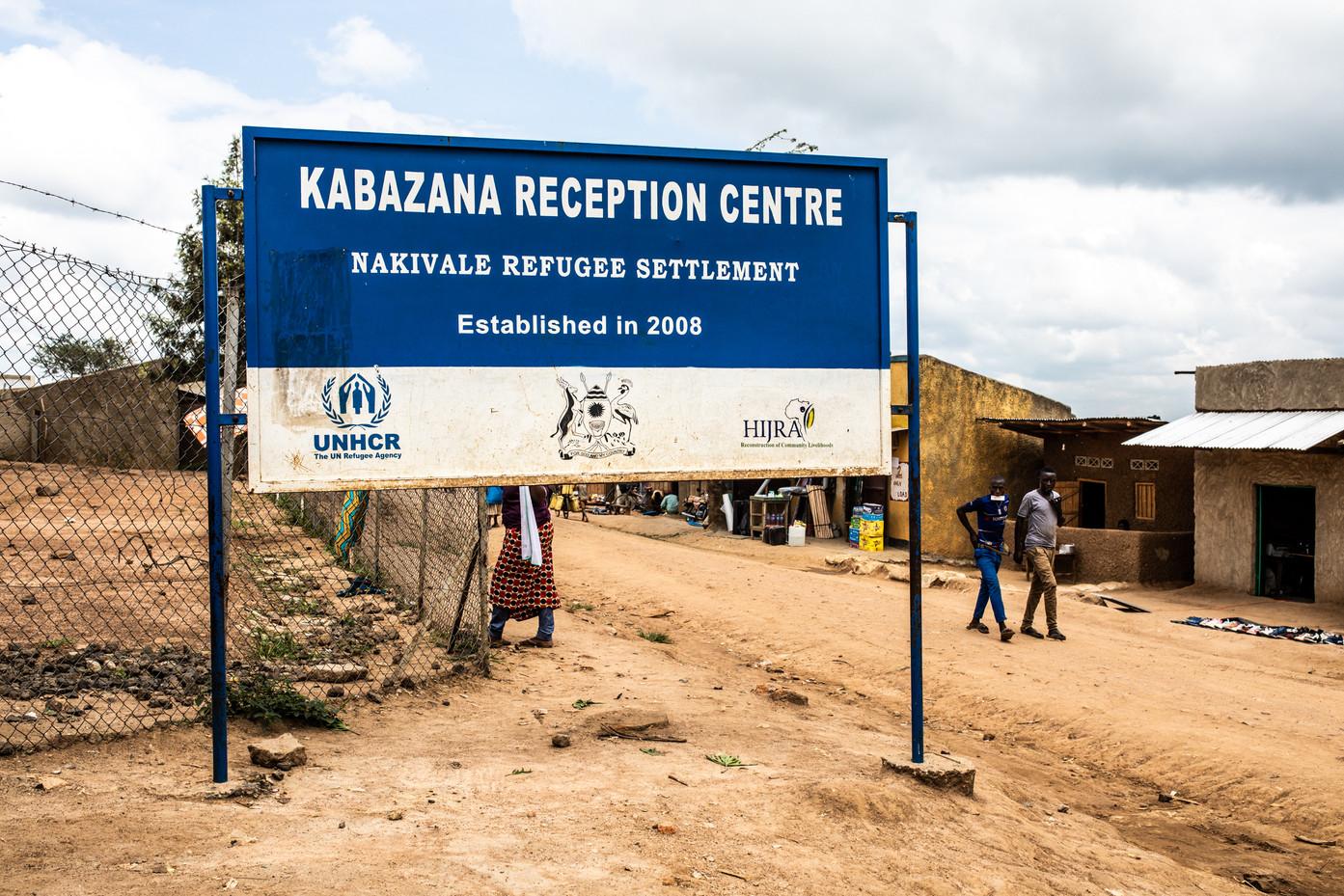 Kabazana reception center.
