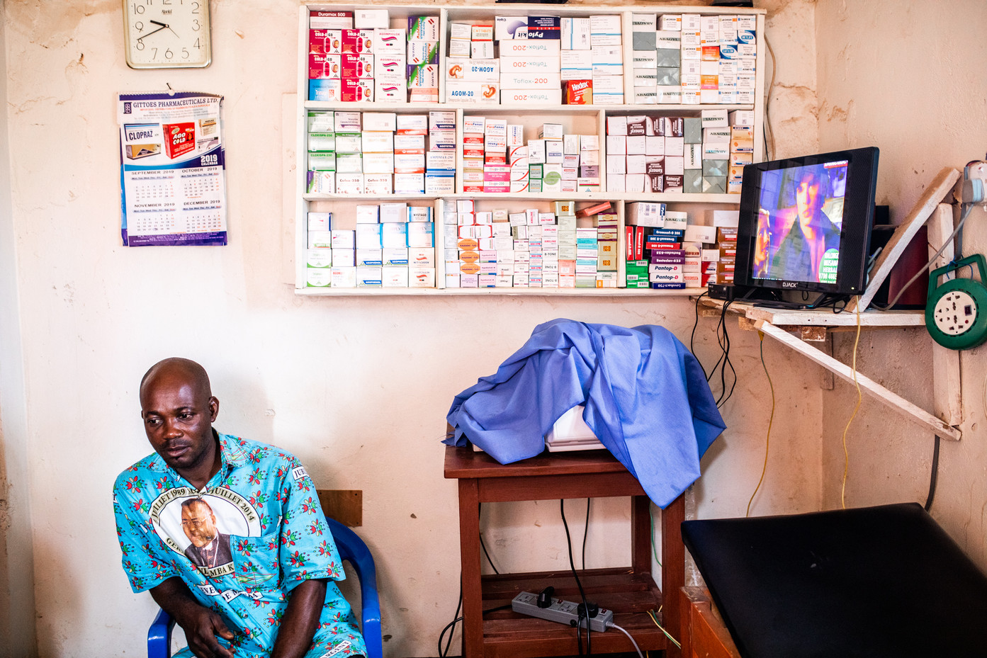 Private clinic in Nakivale.