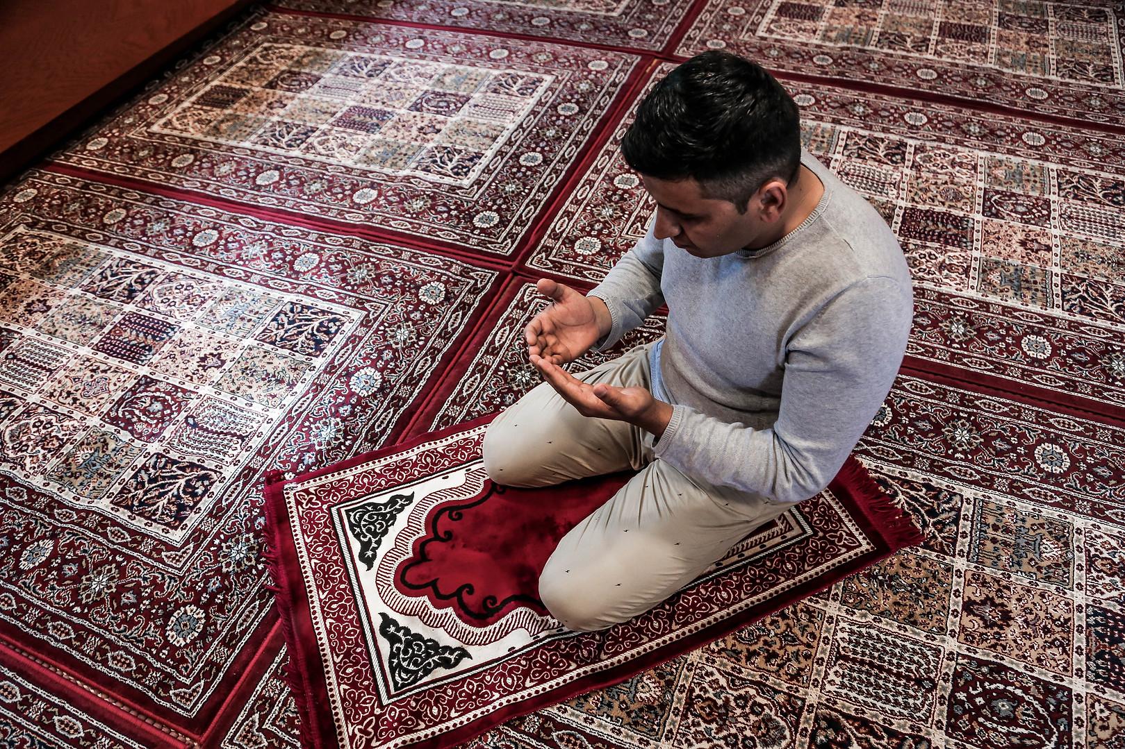 Habib Rahmani. The center has a prayer room.