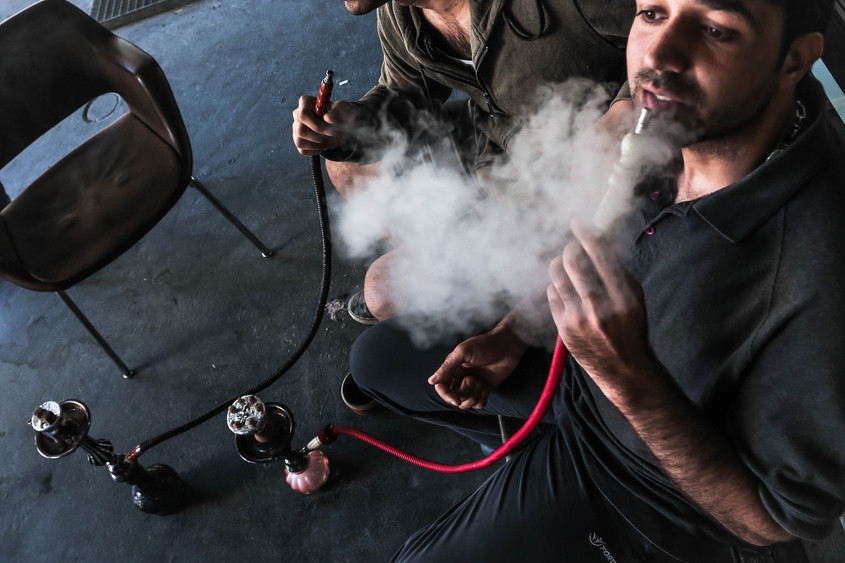 Shisha is a small pleasure in days that are full of emptiness and anxiety