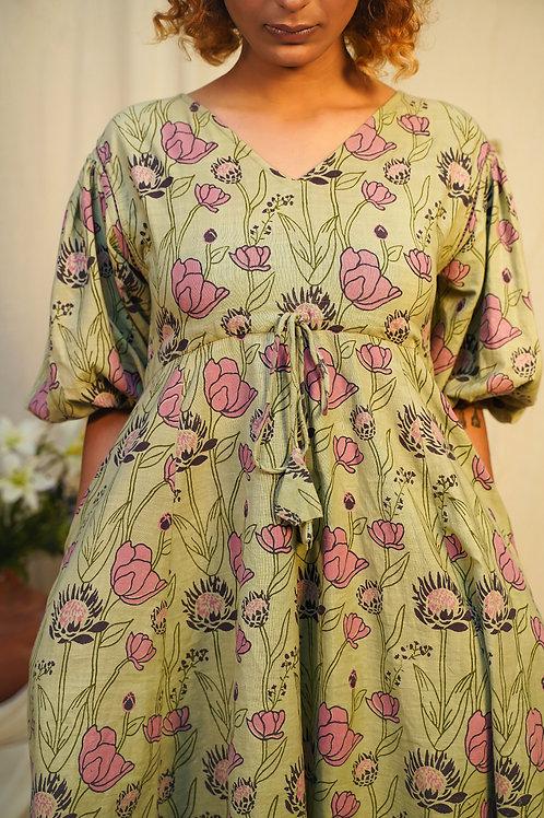 Protea Fit & Flair Dress