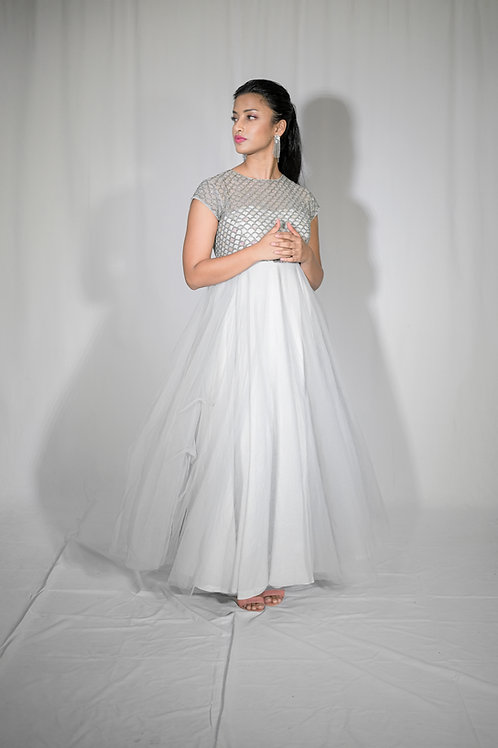 River Pearl Long Gown