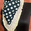 Thumbnail: Bottle Green Polka Dot with Floral Bordered Scarf
