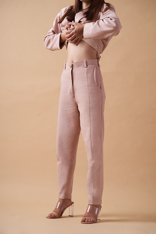 Elements of Earth Pants- Rose