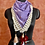 Thumbnail: Purple Check Print Scarf